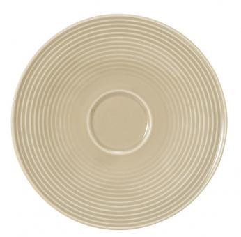 Seltmann Beat Kombi-Untertasse Groß 16,5 cm Sandbeige