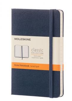 Moleskine Notizbuch P/A6 Kariert Hard Cover Saphir