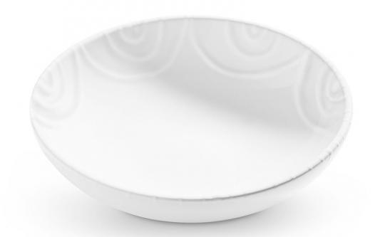 Gmundner Keramik Weißgeflammt, Schale ø 17Cm