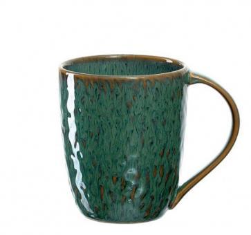 Leonardo Keramiktasse 430 ml Grün Matera