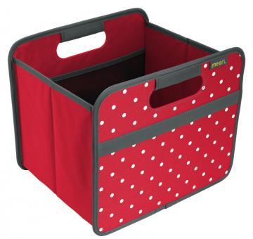 Meori Faltbox 15L Classic Small Hibiskus Rot/Punkte