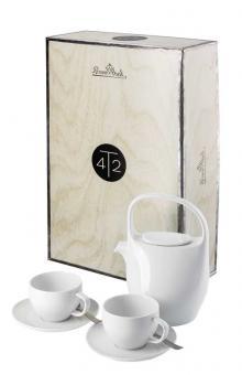 Rosenthal Selection Junto Weiss Tee-Set 7-tlg.
