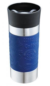 Cilio Isoliertrinkbecher Viaggio 360 ml Blau