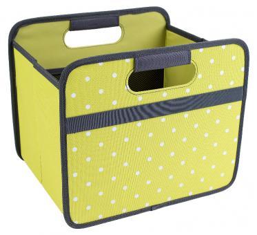 Meori Faltbox 15 L Classic Small Kiwi Grün/Punkte