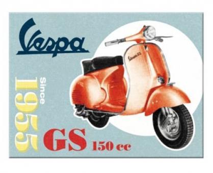 Nostalgic Art Magnet 8x6 cm Vespa - GS 150 Since 1955