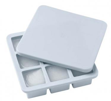 Stelton Rig-Tig Freeze-It Eiswürfelbox mit Deckel groß light blue