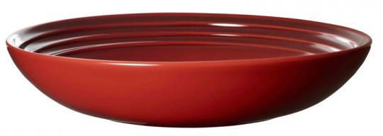 Le Creuset Suppenteller 22 cm Kirschrot