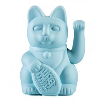 Donkey Winkekatze Lucky Cat Blue