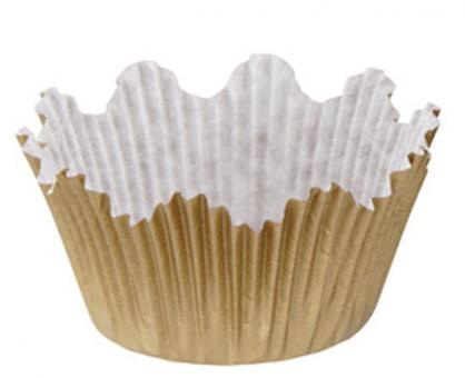 Dr. Oetker Papier-Muffinförmchen Gold 60 Stk.