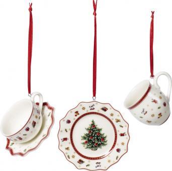 Villeroy & Boch Toy´s Delight Ornamente Geschirrset 3-tlg. 6,3 cm
