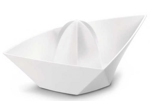 Koziol Ahoi XL Orangenpresse solid weiß