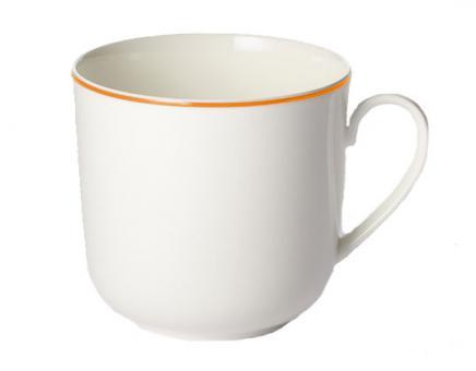 Dibbern Simplicity Becher mit Henkel 0,32 L Orange