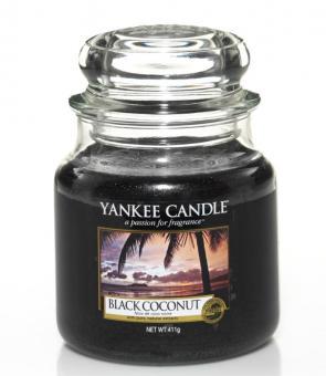 Yankee Candle Kerze mittel Black Coconut
