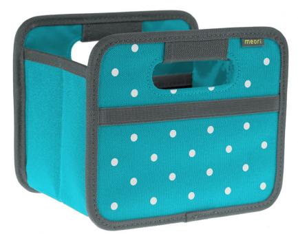 Meori Faltbox Mini Azuree Blue Dots