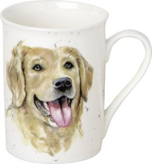 IHR Bone China Becher Farmfriends Dog