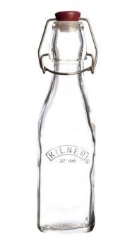 Kilner Bügelverschluss-Flasche quad., 0.25 L., 5,6x5,6x20 cm