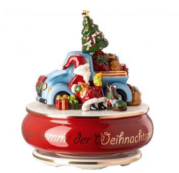 Hutschenreuther Spieluhr Sammelserie 2020 Morgen kommt der Weihnachtsmann