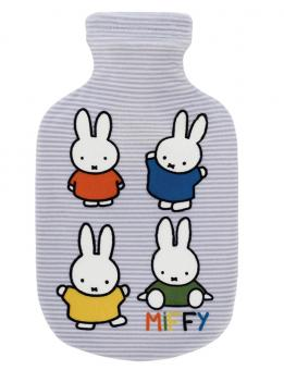 Fashy Wärmflasche mit Bezug Miffy bedruckter Bezug