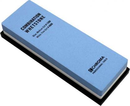 Chroma Schleifstein Körnung 1200/4000 18x6,0x2,8 cm