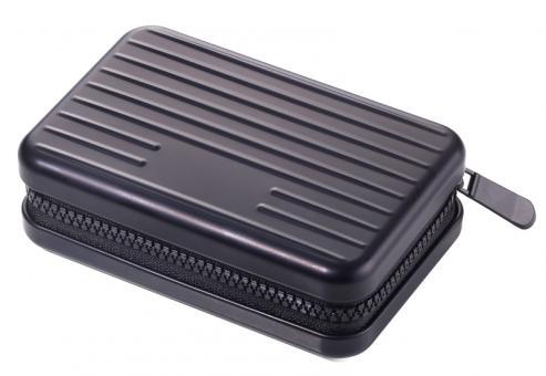 Troika Mini-Wallet/Kartenetui 9 Fächer matt schwarz
