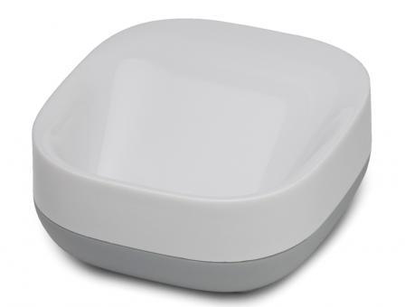 JosephJoseph Slim kompakte Seifenschale weiß/grau