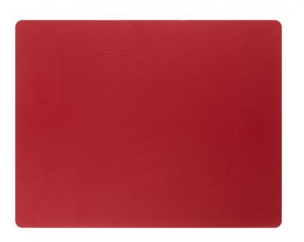 Lind DNA Table Mat Square L Bull Red