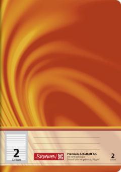 Brunnen Schulheft A5 Vivendi Lineatur 2 32 Blatt