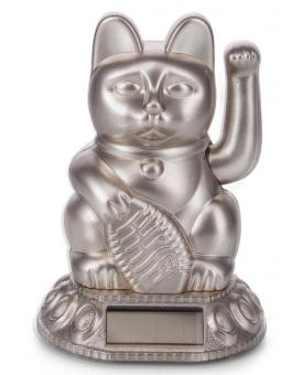 Donkey Winkekatze Lucky Cat Solar moonlight
