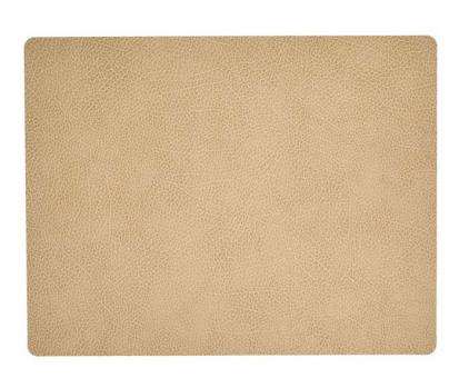Lind DNA Table Mat Square L Hippo Sand