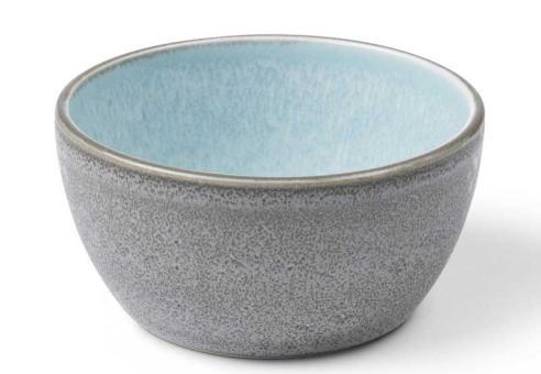 Bitz Bowl 10 cm grau/hellblau