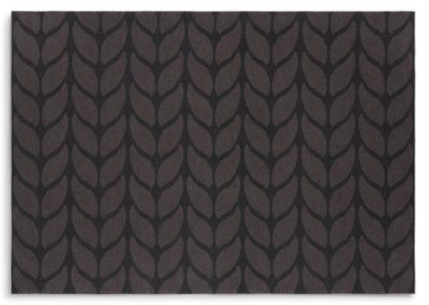 DayDrap 2er Set Tischset 45x32 cm Soft Wool Grey