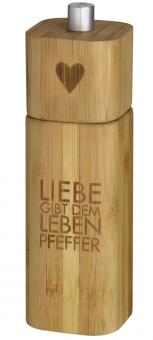 Räder P.e.t. Pfeffermühle Liebe gibt dem Leben Pfeffer 15 cm hoch