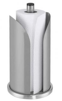 Küchenprofi Papierrollenhalter CORONA silbergrau