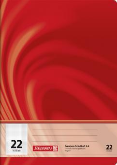 Brunnen Schulheft A4 Vivendi Lineatur 22 16 Blatt