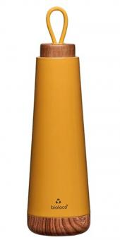 chic.mic Trinkflasche 500 ml Bioloco Loop senfgelb