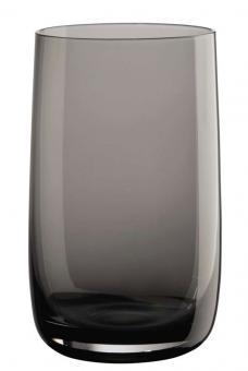 ASA Selection Longdrinkglas Grau Ø 8 cm H 13 cm 0,4 L