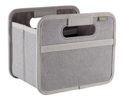 Meori Faltbox Mini Jeans Grey Uni