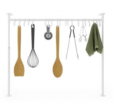 Umbra Küchen-Organizergestell Anywhere Tension weiß
