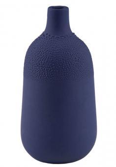 Räder Zuhause Perlenvase Design 4 indigoblau,d:5,5 cm H: 11,5 cm