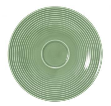 Seltmann Beat Kombi-Untertasse Groß 16,5 cm Salbeigrün