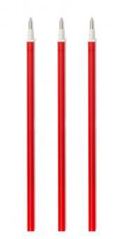 Legami Tinten-Ersatzpatrone rot für Gelstift (3 Stk.)