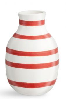Kähler Omaggio Vase 12,5 cm scarlet