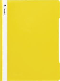 Brunnen Schnellhefter Folie gelb