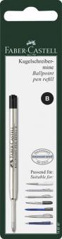 Faber-Castell Kugelschreibermine schwarz B in BK