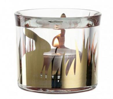 Leonardo Nido Tischlicht 6 cm Speedydekor Gold