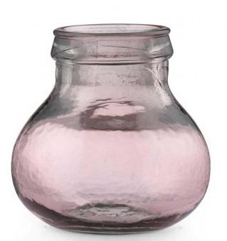 Bitz Vase H: 17,5 cm pink