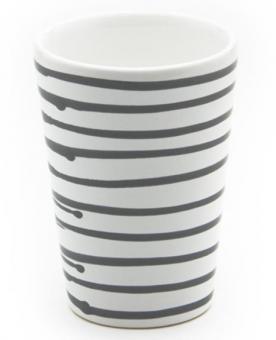 Gmundner Keramik Graugeflammt Trinkbecher