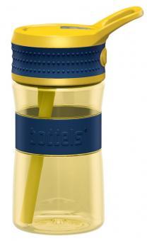 Boddels Trinkflasche Een 400 ml nachtblau / gelb