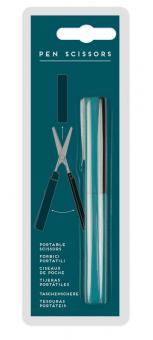 Legami Schere in Stiftform Petrol Blue