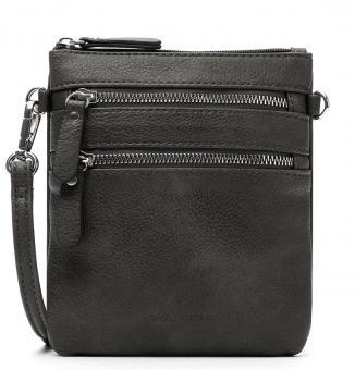 Emily & Noah Handtasche mit Reißverschluss klein Emma grey
